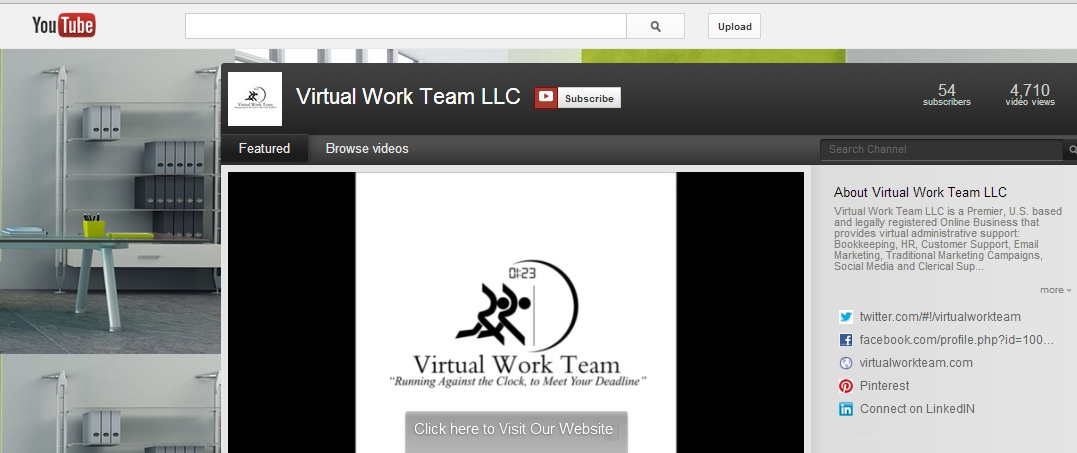 Check your website or portfolio often