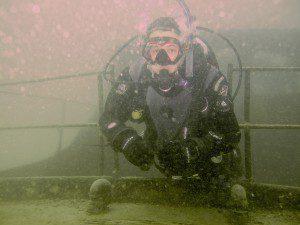 wreck diving class, scuba wreck diving