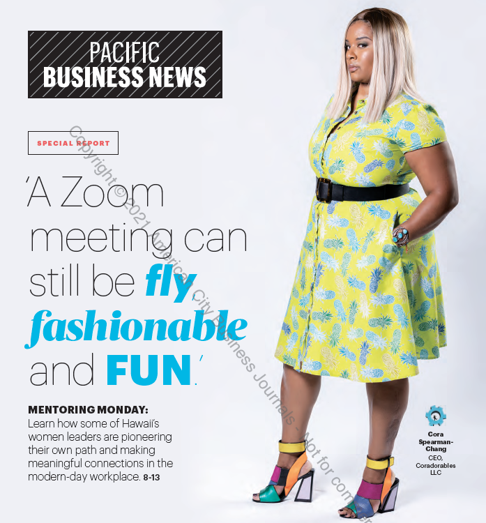 Cora Spearman on Pacific Business News cover