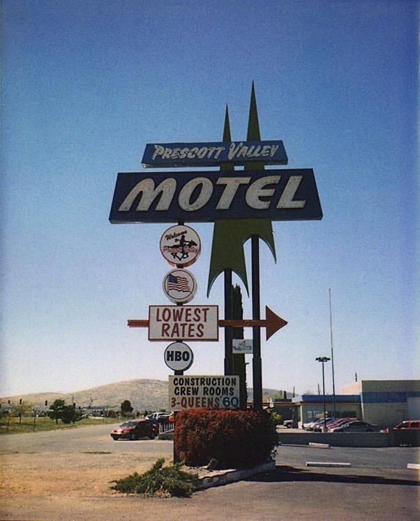 Prescott Valley Motel Sign