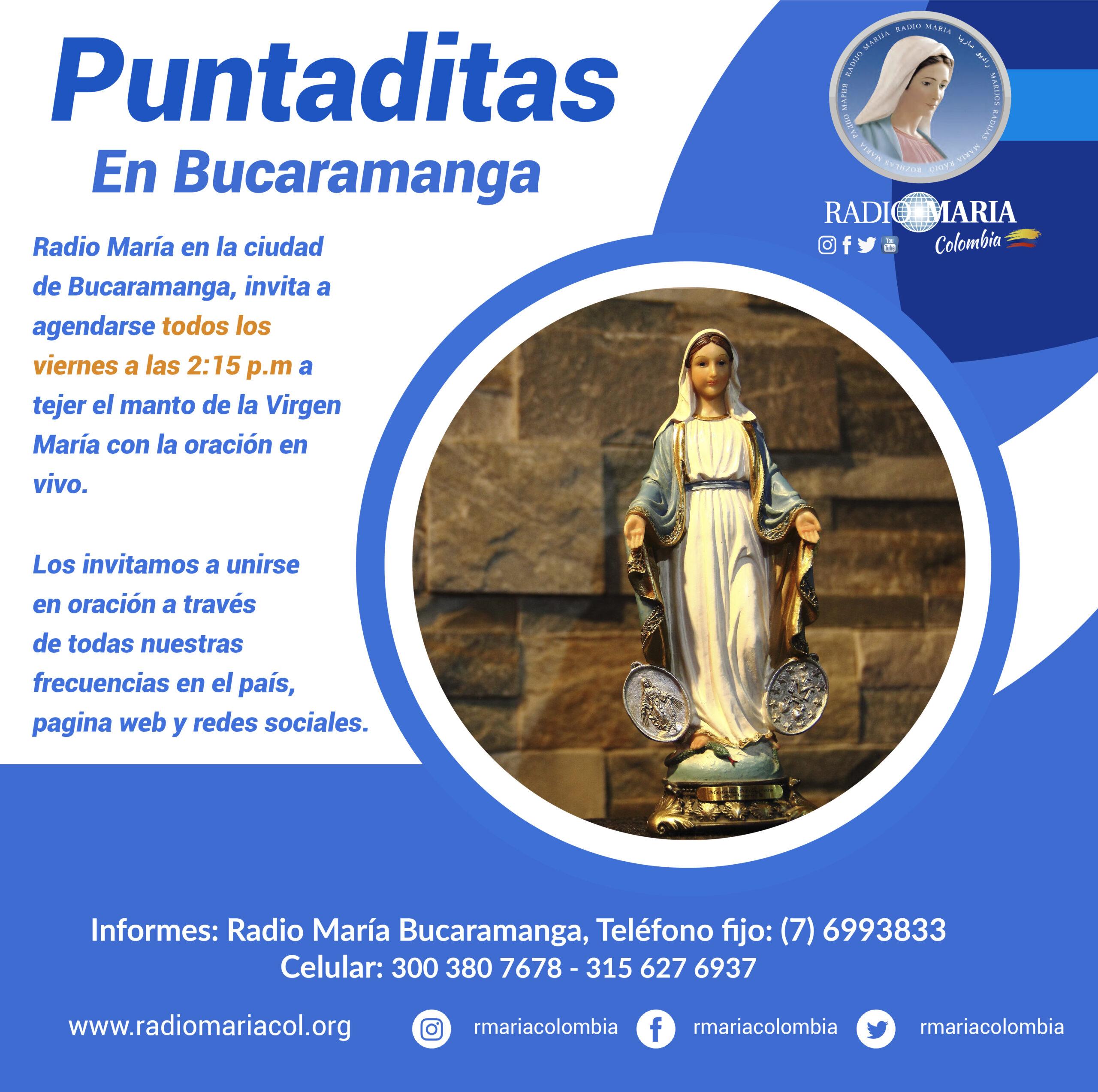 flyer puntaditas en Bucaramanga