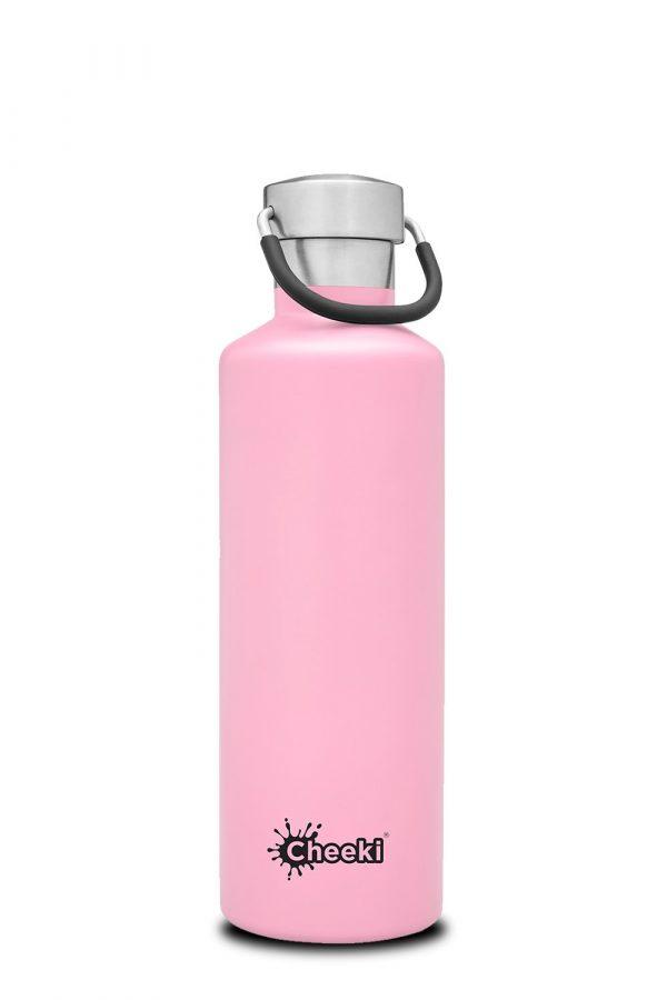 Reusable drink bottle pink color