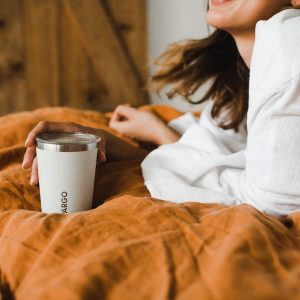 reusable insulated coffee cup