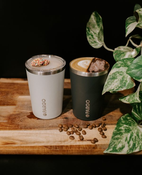 reusable insulated cups by Pargo