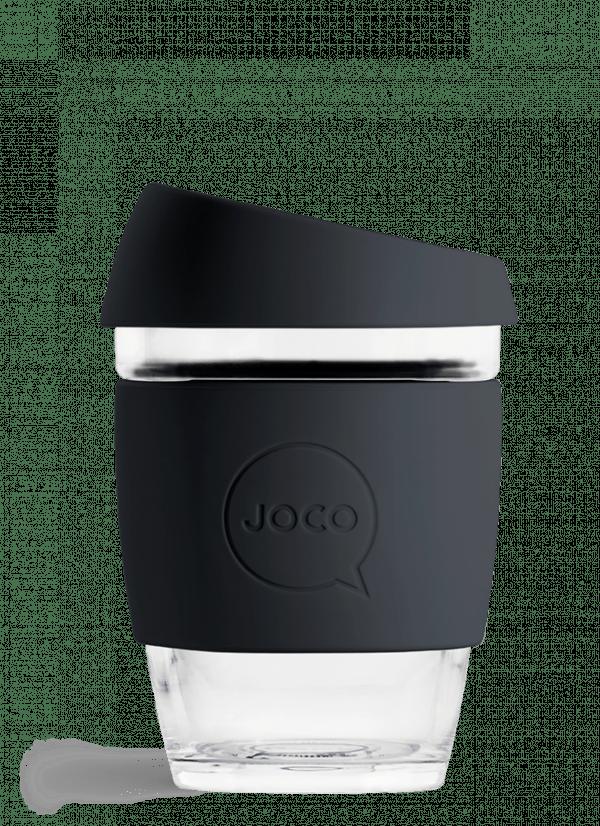 glass reusable cup 12oz joco brand