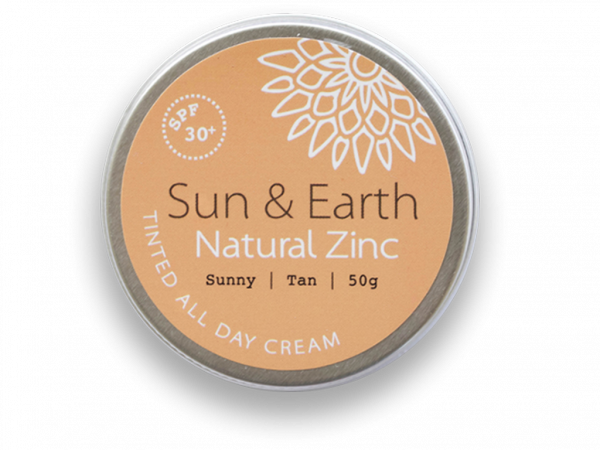 Eco friendly sun cream natural zinc