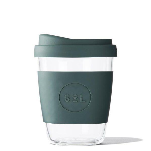 Reusable coffee and tea cup