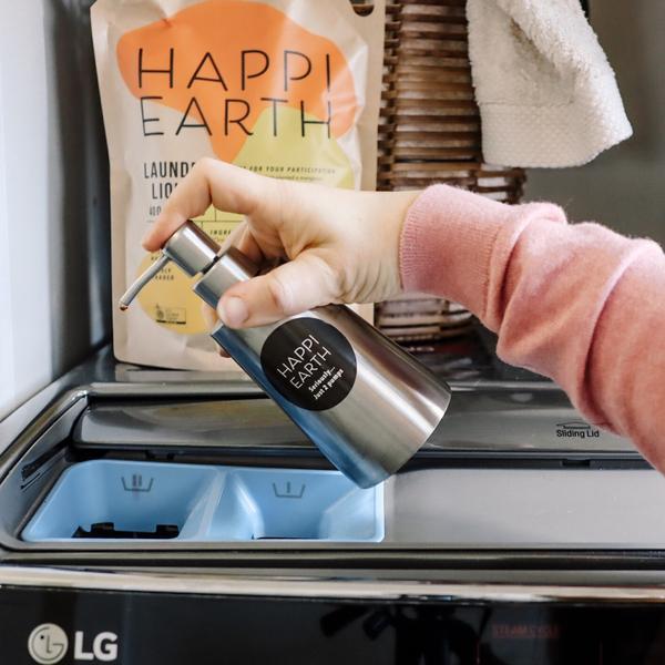 environmentally sustainable laundry liquid