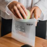 reusable silicone ziplock
