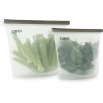 reusable silicone ziplock bags