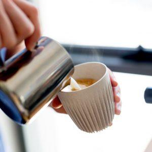Takeaway Coffee Cup in beige