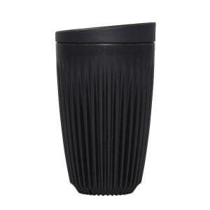 Reusable cup in black