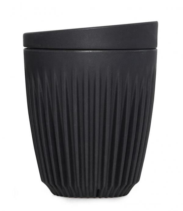 reusable coffee takeaway cup in charcoal