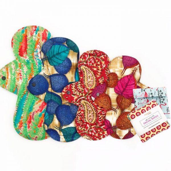 Eco friendly reusable cloth pads