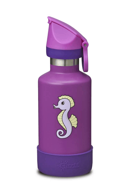 reusable kids bottle seahorse