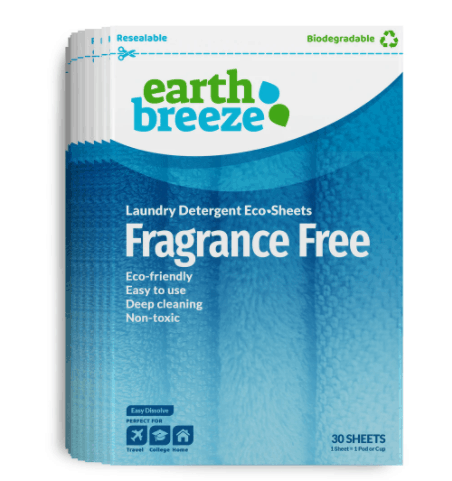 Eco friendly laundry detergent fragance free