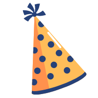 orange-birthday-hat
