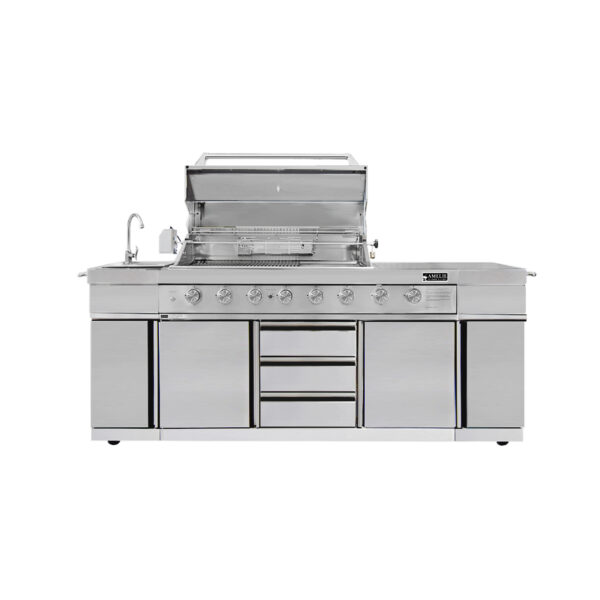 Barbecue In All | Amelie Outdoor kitchen BBQ grill