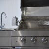 Barbecue In All | Amelie outdoor kitchen BBQ grill inside