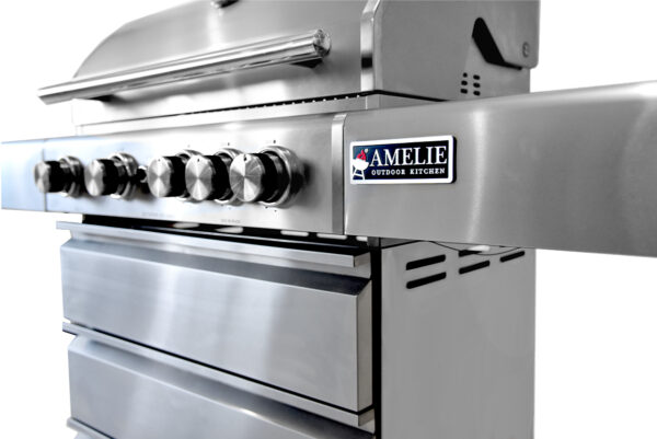 Barbecue In All   Amelie Outdoor Kitchen BBQ grill