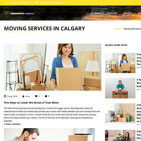 Movers Calgary