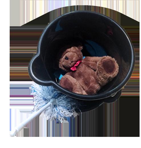 Teddy Bear Bucket