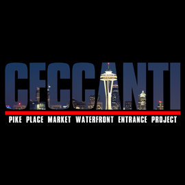 #746 – Pike Place Market Waterfront Entrance