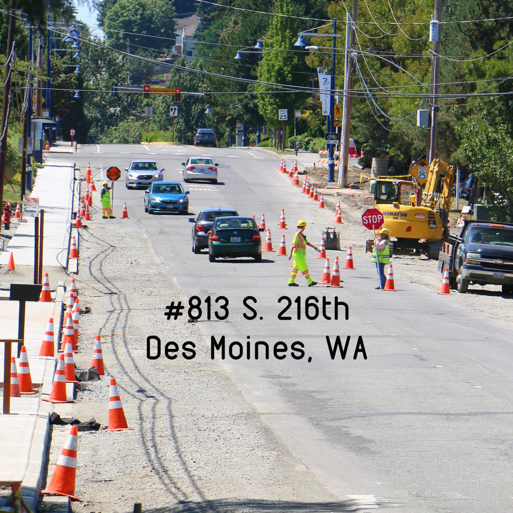 #813- City of Des Moines, S. 216th