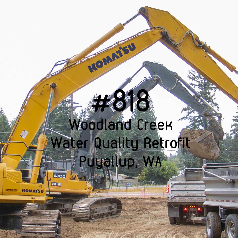 #818- Woodland Creek Water Quality Retrofit
