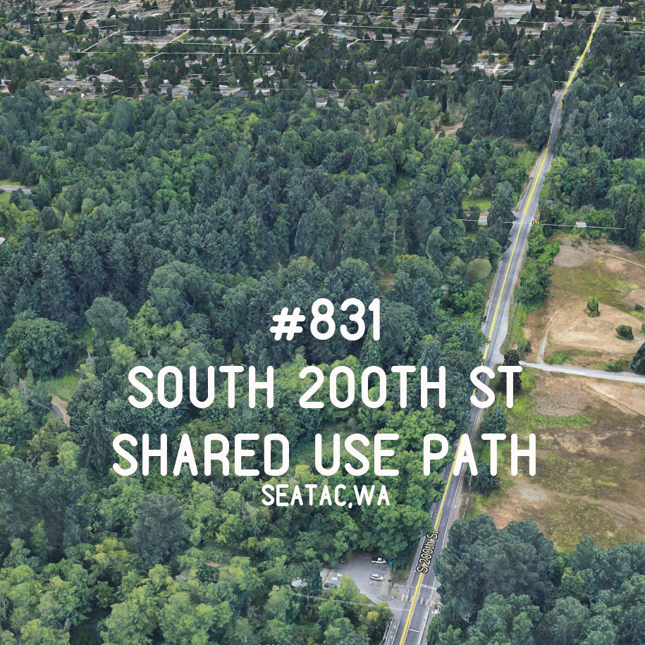 #831- South 200th St Shared Use Path