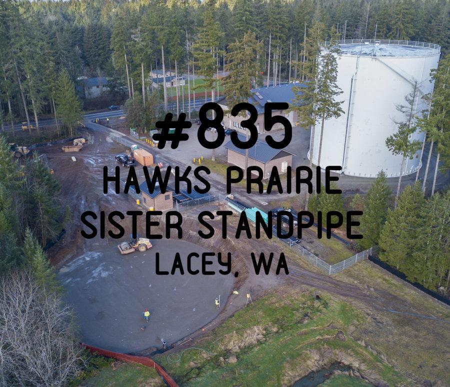 #835- Hawks Prairie Sister Standpipe
