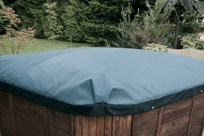 Swim Spa Covers in blue