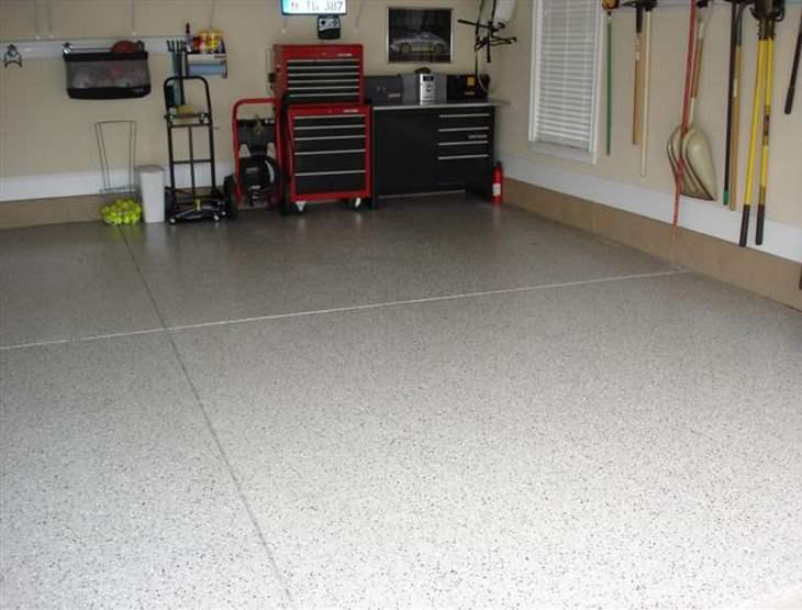Garage floor Mooresville