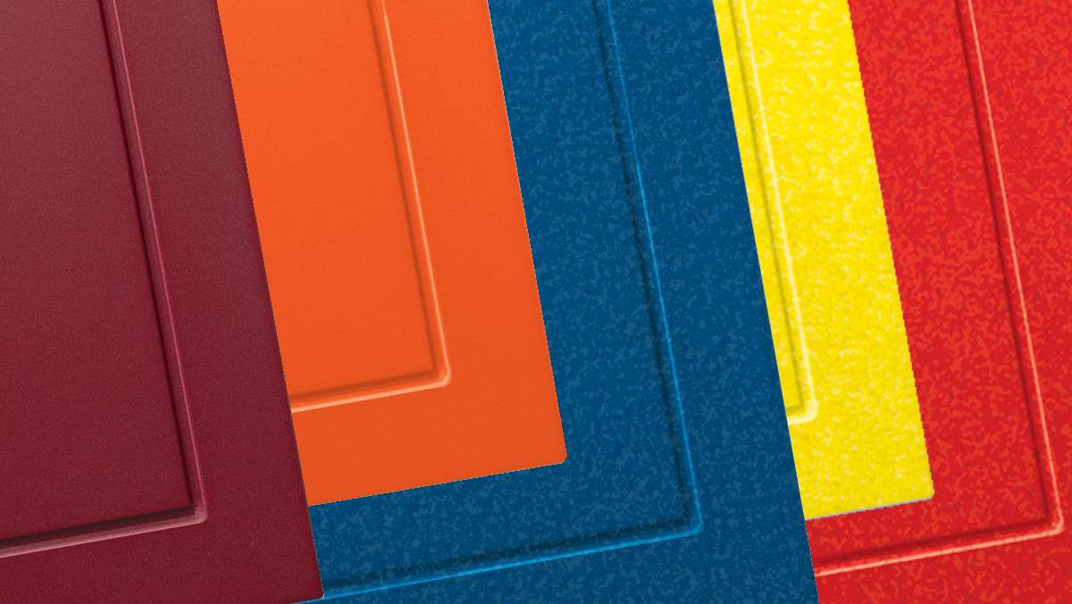 Express Your Personality In Your Garage With Bold Colors