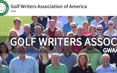 Taba Admitted as Member to Golf Writers of America