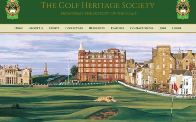 Becoming Board Member of Golf Heritage Society