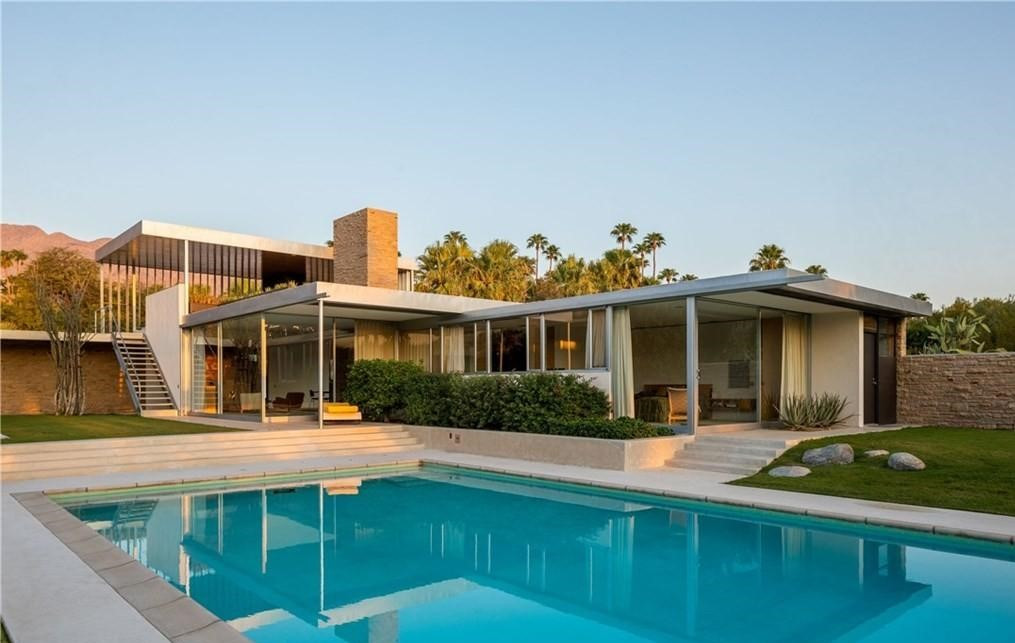 Famous Kaufmann Desert House in Palm Springs for Sale