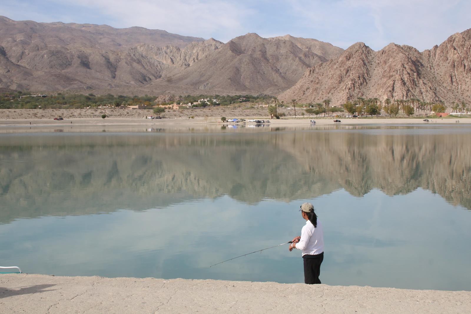 Fishing Lake Cahuilla