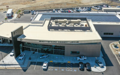 Shottenkirk Desert Lexus Leads the Charge in Commercial Solar