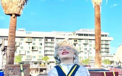 """Forever Marilyn"" Arrives in Palm Springs"
