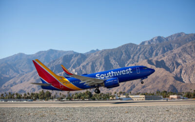 Southwest and Alaska Airlines Announce New Nonstop Routes from Palm Springs