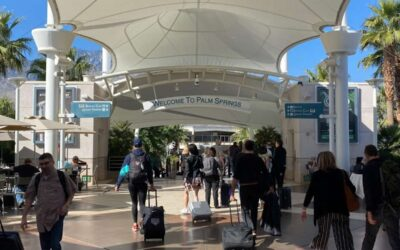 Palm Springs Airport Sets New Passenger Record in June