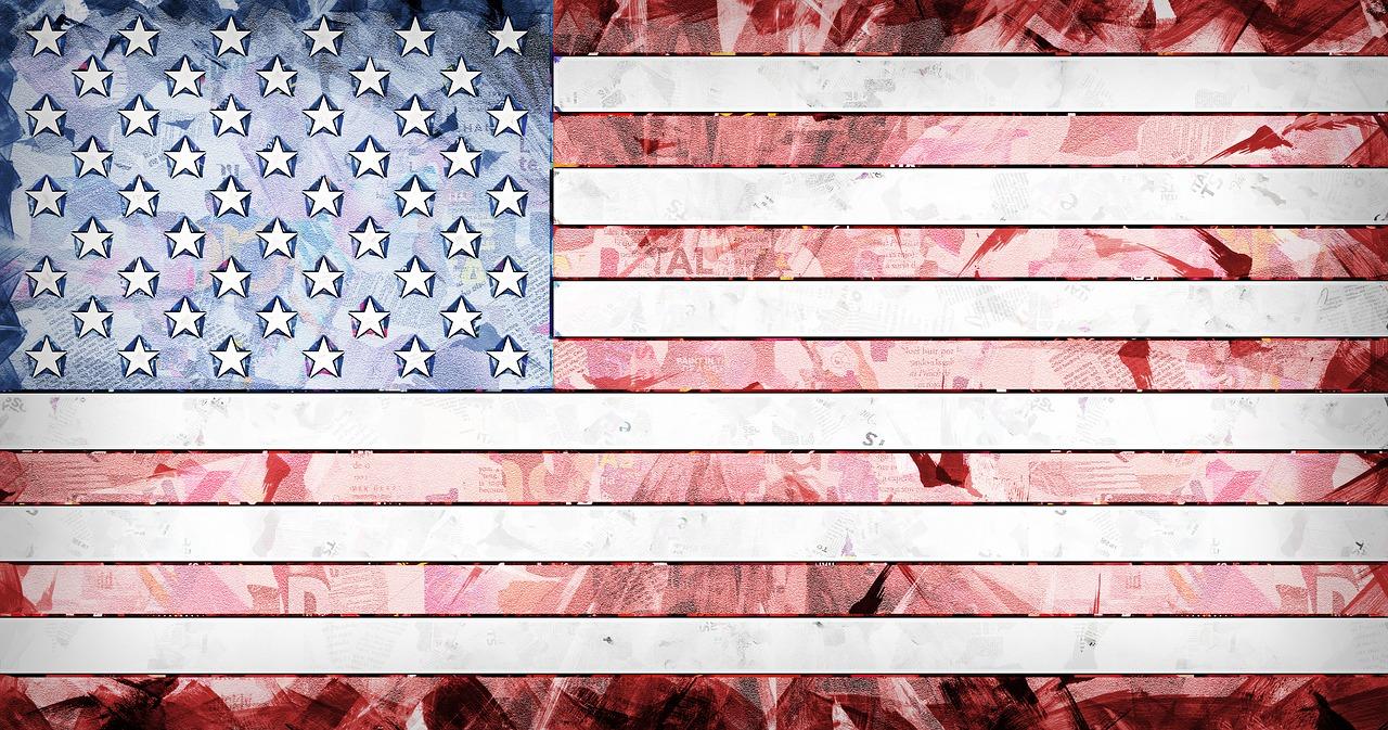 flag, america, american