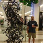 A hanger art piece!
