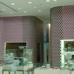 Polka-dotted walls!! Oh My!