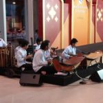 Live Thai classical music in the mall