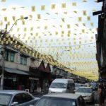 Turning into KhaoSan - the Backpacker street