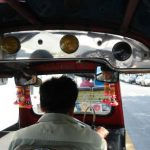 On the Tuk Tuk...being scammed (as we found out later)