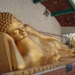 The buddha...in his reclining position!