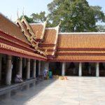 Inside the marble temple/monastary